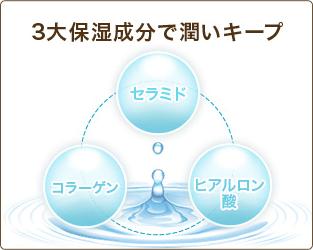 三大保湿成分画像
