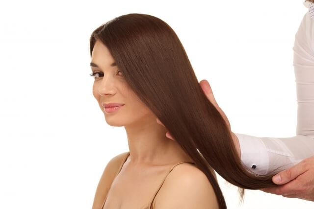 髪の綺麗な女性イメージ