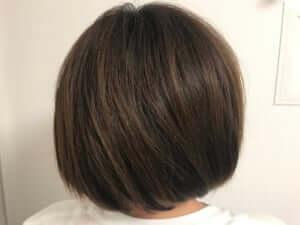 使用前の髪の状態